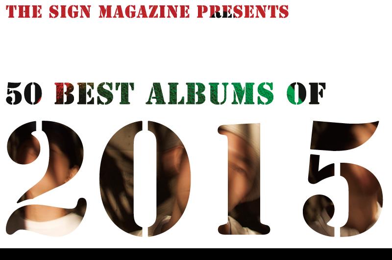 2015年<br /> 年間ベスト・アルバム 50