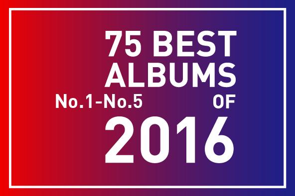 2016年 年間ベスト・アルバム<br /> 1位~5位
