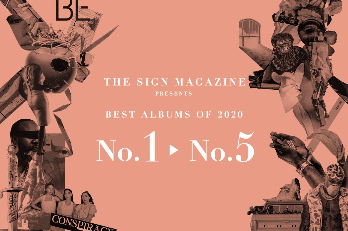 2020年 年間ベスト・アルバム<br /> 1位~5位