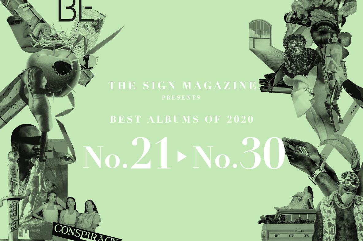 2020年 年間ベスト・アルバム<br /> 21位~30位