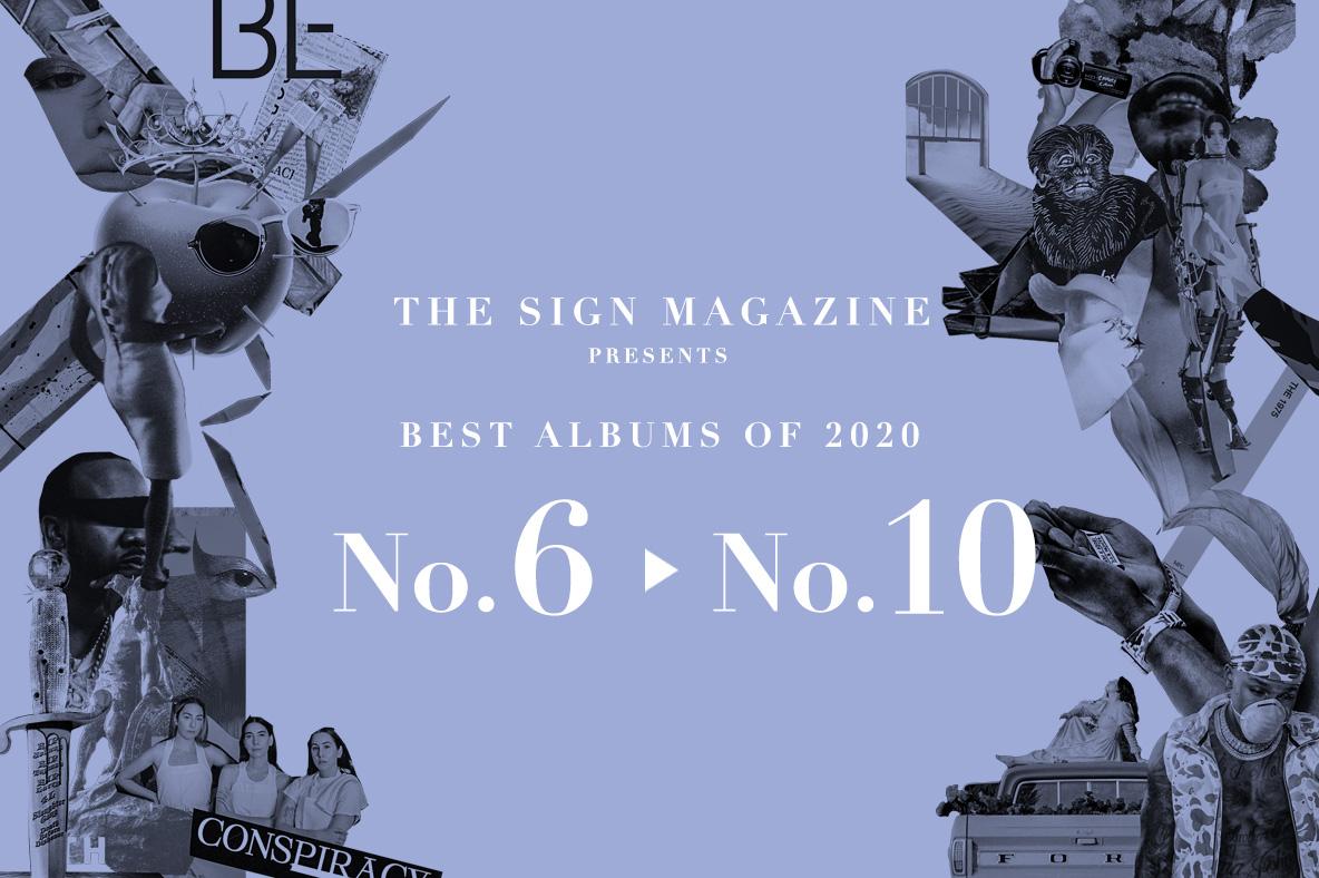 2020年 年間ベスト・アルバム<br /> 6位~10位