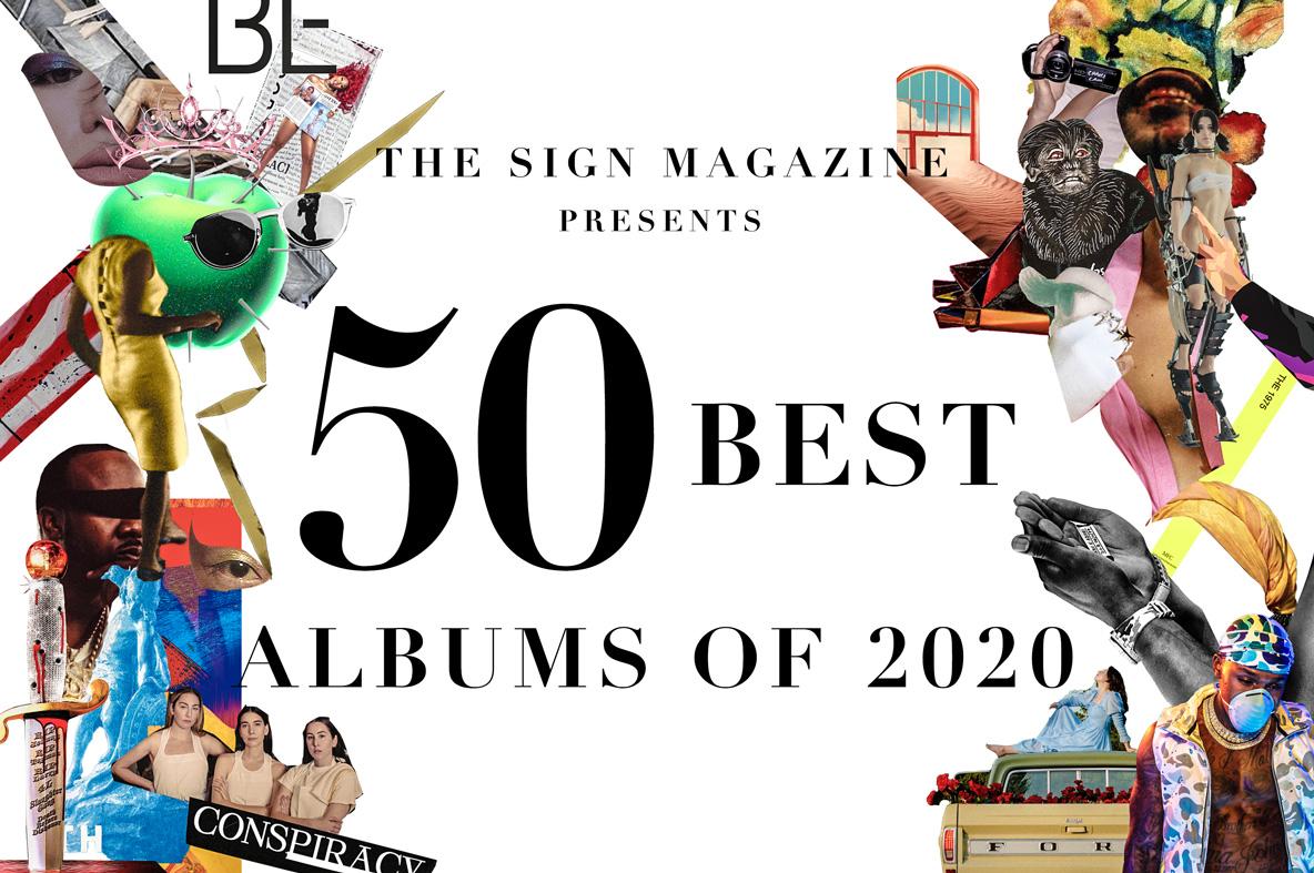 2020年<br /> 年間ベスト・アルバム 50