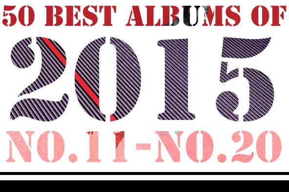 2015年 年間ベスト・アルバム <br /> 11位~20位