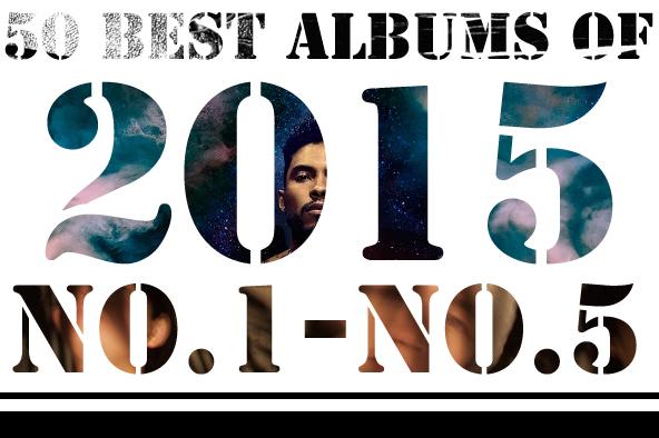 2015年 年間ベスト・アルバム <br /> 1位~5位