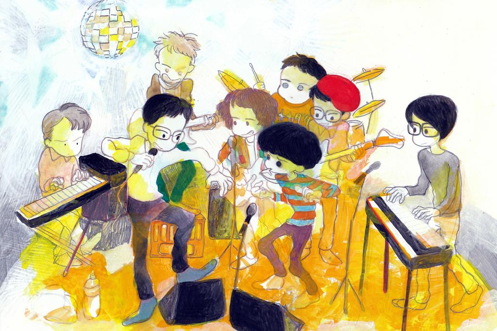新世代カルチャーのホープが集まった8人組<br /> トーベヤンソン・ニューヨークが初シングル