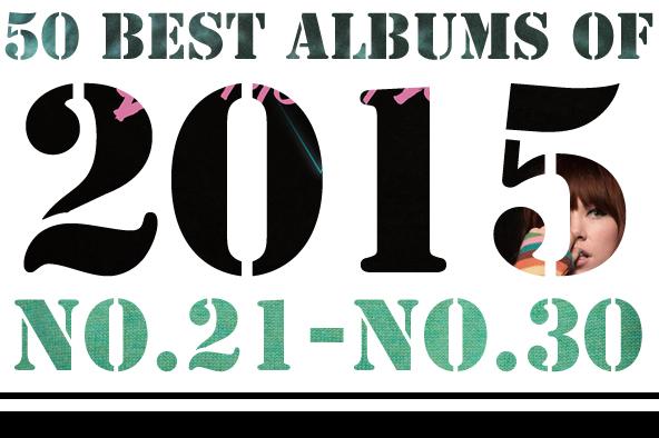 2015年 年間ベスト・アルバム <br /> 21位~30位