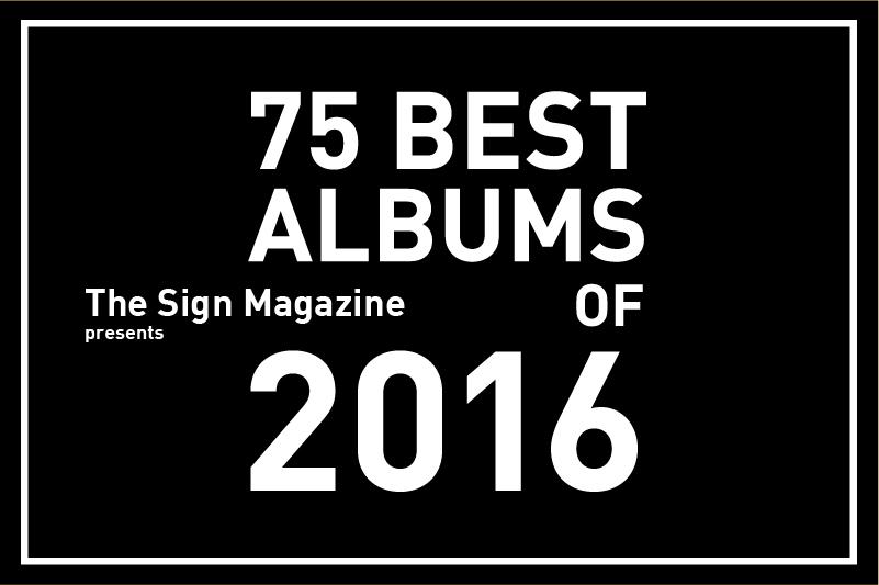 2016年<br /> 年間ベスト・アルバム 75