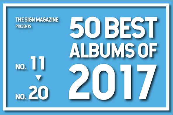 2017年 年間ベスト・アルバム<br /> 11位~20位