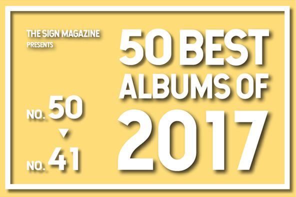 2017年 年間ベスト・アルバム <br /> 41位~50位