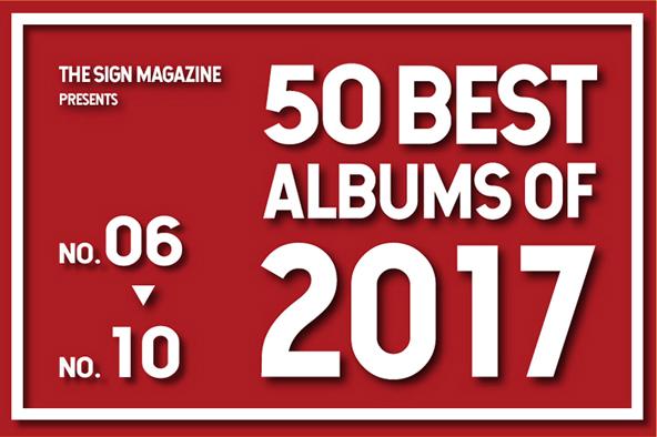 2017年 年間ベスト・アルバム<br /> 6位~10位