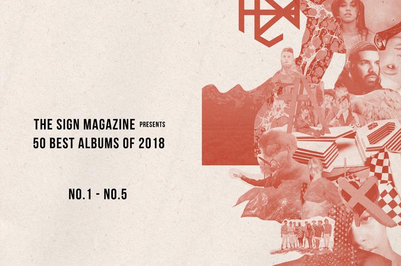 2018年 年間ベスト・アルバム<br /> 1位~5位