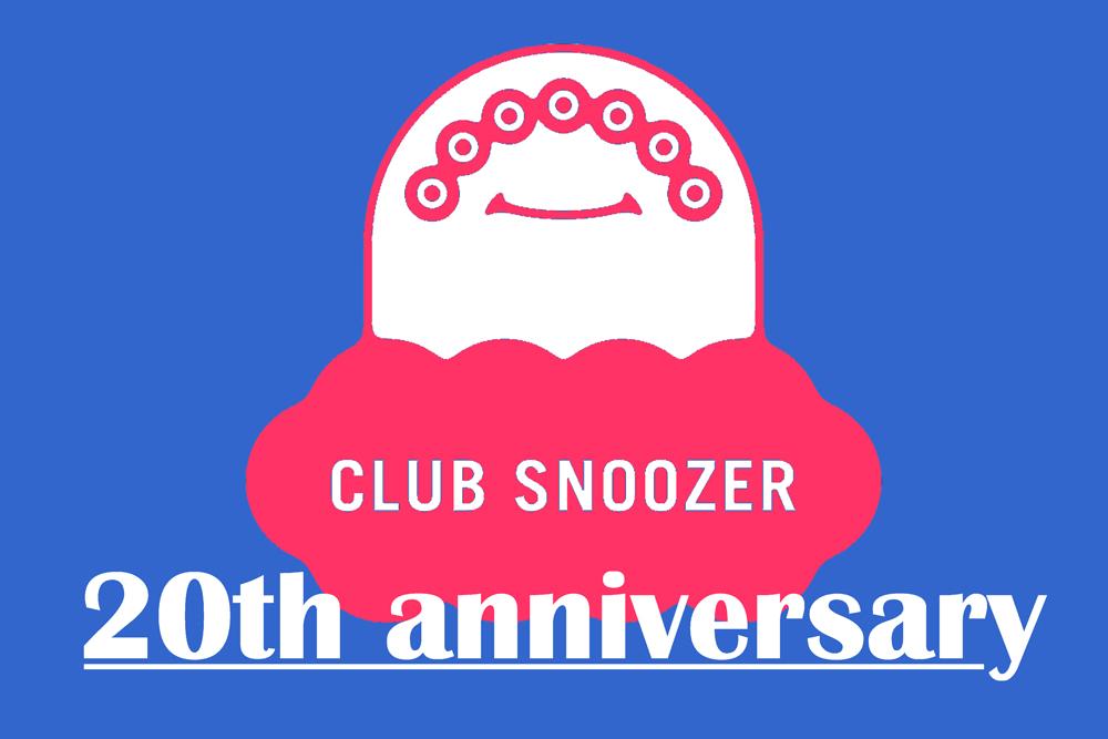 祝20周年!〈クラブ・スヌーザー〉の<br /> アニヴァーサリー・ツアー開催!<br /> DIGAWELのカプセル・コレクションも!