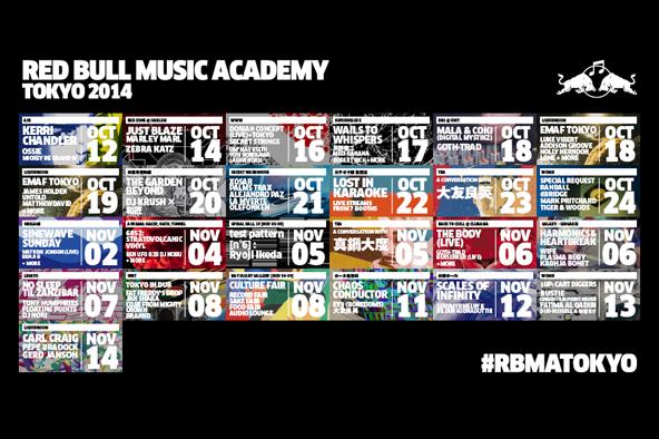 ラスティ、OPNなども追加決定!<br /> 〈レッドブル・ミュージック・アカデミー〉<br /> 第二弾発表でさらにパワーアップ!